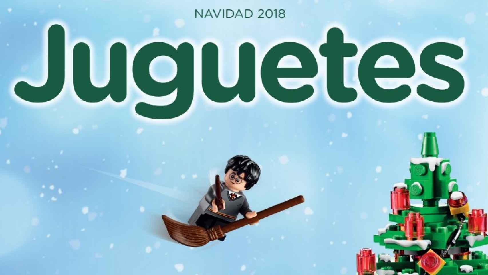 El catálogo de juguetes de El Corte Inglés.
