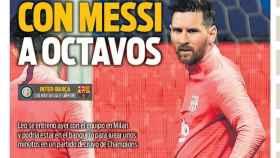 Portada del diario SPORT (06/11/2018)