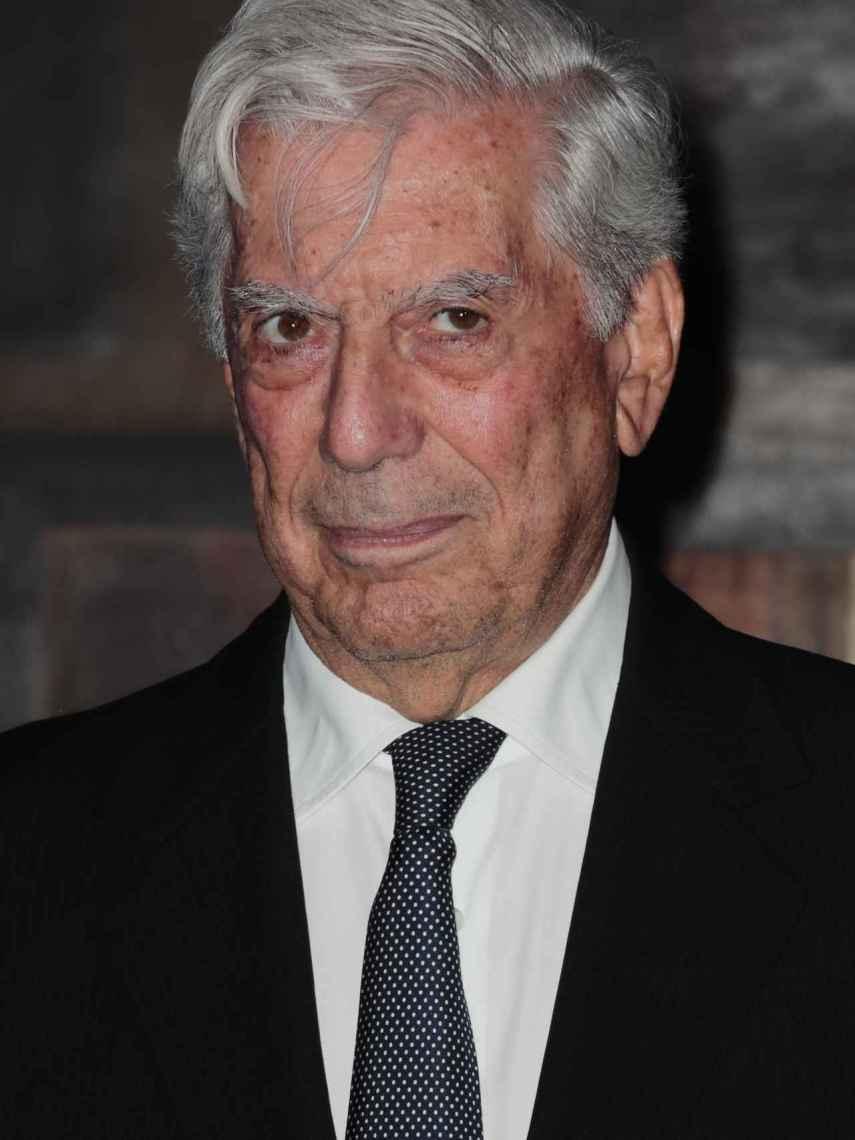 Vargas Llosa en una imagen de archivo.