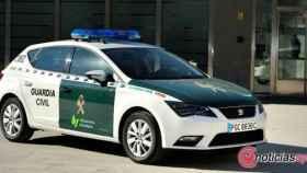 Foto coche Guardia Civil