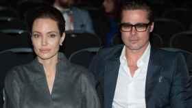 Angelina Jolie y Brad Pitt en una imagen de archivo.