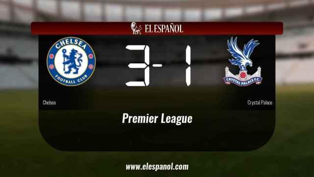El Chelsea ganó en casa al Crystal Palace
