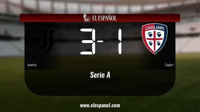 Victoria 3-1 de la Juventus frente al Cagliari