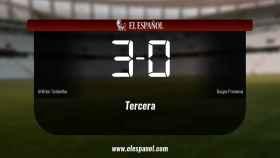 El Atlético Tordesillas derrotó al Burgos Promesas por 3-0