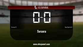 Reparto de puntos entre el Terrassa y el Reus Deportiu B, el marcador final fue 0-0