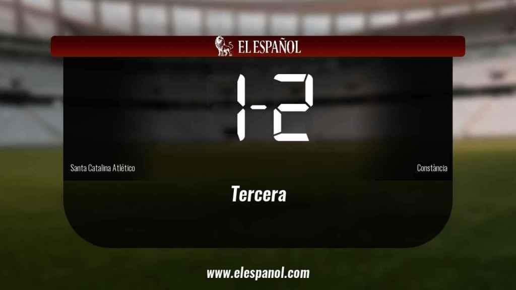 El Constància se impone por 1-2 al Santa Catalina Atlético