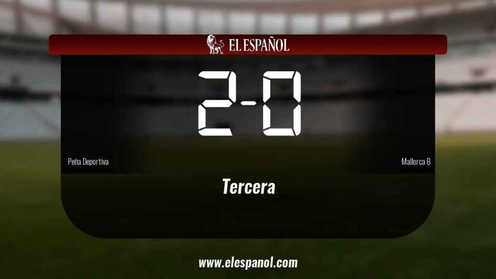 Tres puntos para el equipo local: Peña Deportiva 2-0 Mallorca B