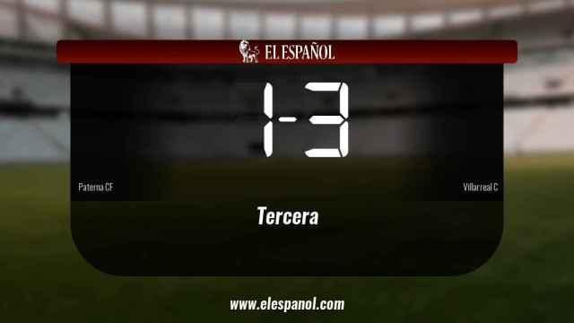 El Villarreal C vence 1-3 ante el Paterna