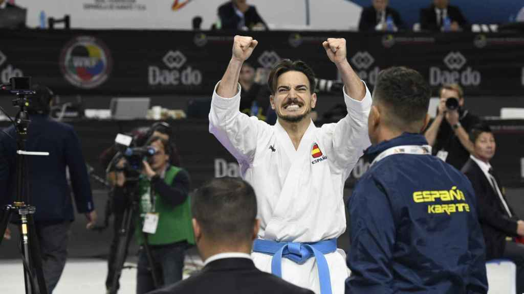 Damián Quintero, número dos del mundo.
