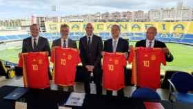 Presentación en rueda de prensa el partido amistoso que disputa España contra Bosnia el domingo 18 de noviembre