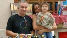Los padres de Nadia, en el juicio.
