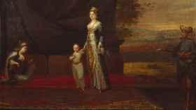 Retrato de Mary Montagu y su hijo.