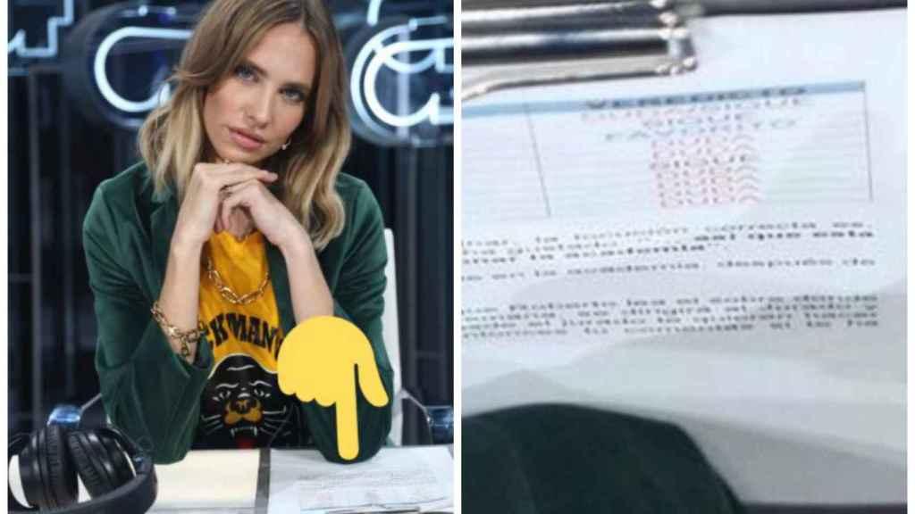 El descuido de Brisa Fenoy en 'Operación Triunfo 2018'.
