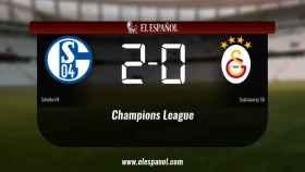 Victoria 2-0 del Schalke 04 frente al Galatasaray SK