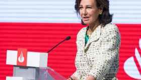 Ana Botín, presidenta del Santander durante su discurso en el Santander International Banking Conference.