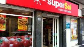 Un local de Supersol.