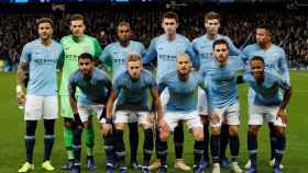 Once inicial del Manchester City ante el Shakhtar Donetsk