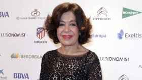 Elena Tablada madre en su último evento público.