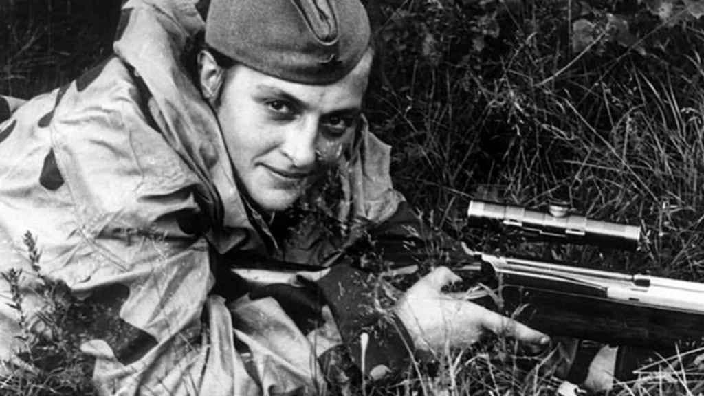 Pavlichenko acabó con un total de 309 nazis.