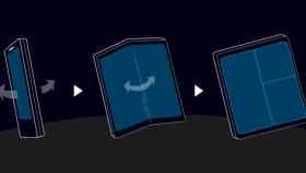 Así es la nueva pantalla plegable de Samsung: Infinity Flex Display