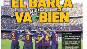 Portada Sport (08/11/18)