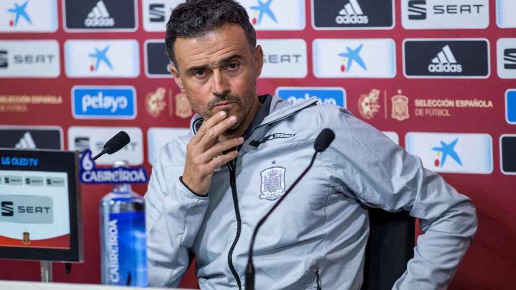Luis Enrique da la lista de convocados por la selección española