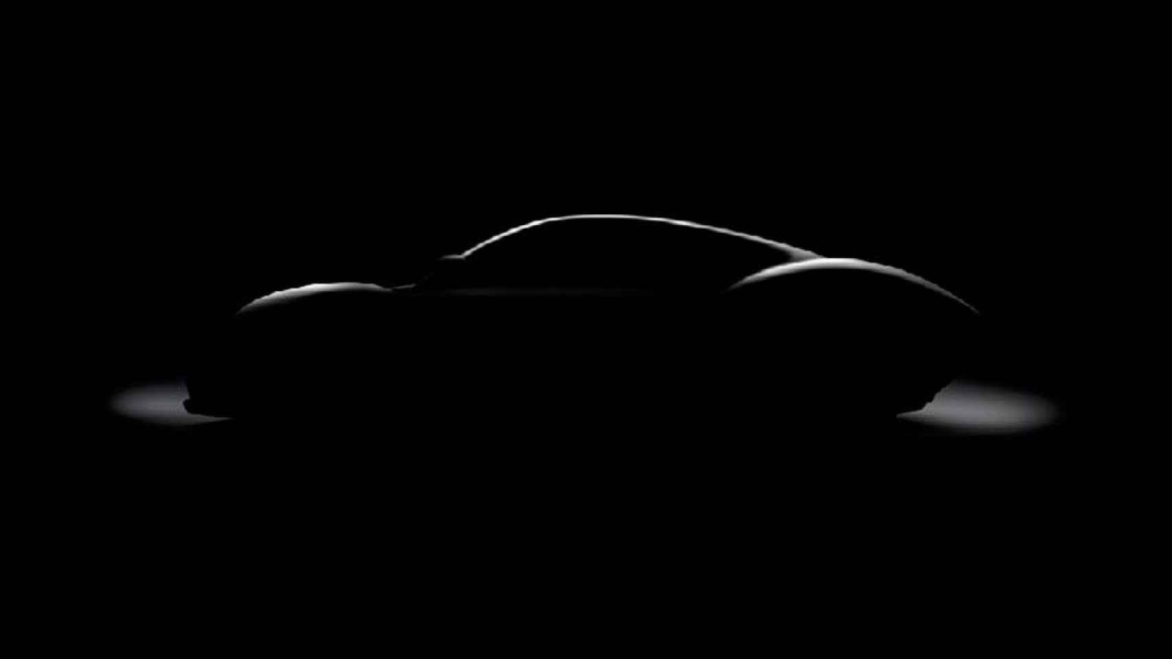 Silueta del prototipo que Hispano Suiza presentará en el próximo salón de Ginebra.