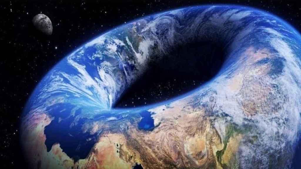 La Tierra es un donut.