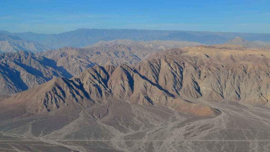 Las líneas de Nazca.