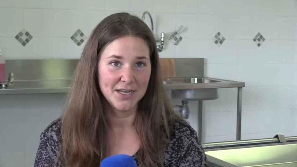 La veterinaria española Isabel Callealta.