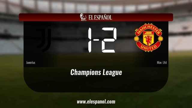 El Manchester United derrotó a la Juventus por 1-2