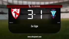 El Sevilla At. derrotó al Jumilla por 3-1
