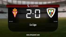 Triunfo del Sporting B por 2-0 frente al Barakaldo