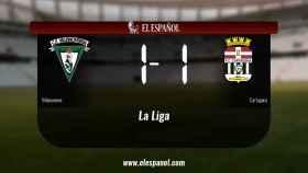 El Cartagena logra un empate a uno frente al Villanovense
