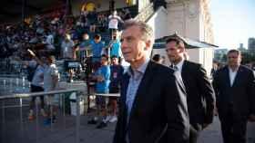 Macri asiste al World Padel Tour en Buenos Aires