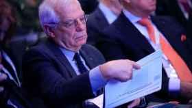 Josep Borrell , durante la inauguración de la XIX Edición del Foro Iberoamericano.