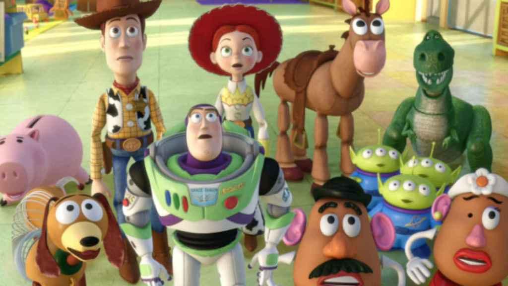 Fotograma de la película 'Toy Story 3'.