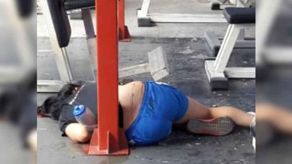 La joven asesinada en el gimnasio