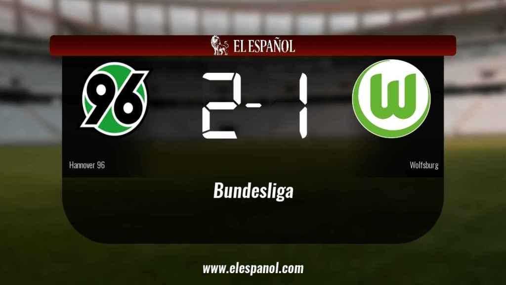 El Hannover 96 ganó en casa al Wolfsburg