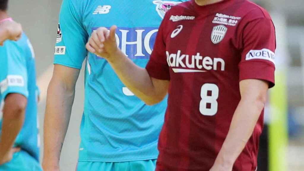 Fernando Torres y Andrés Iniesta en el Vissel Kobe - Sagan Tosu