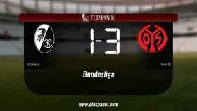 El Mainz 05 vence y se lleva los tres puntos