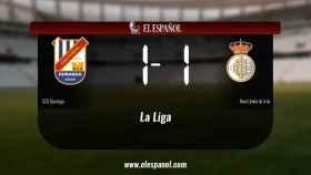 Empate (1-1) entre el Durango y la Real Unión de Irún