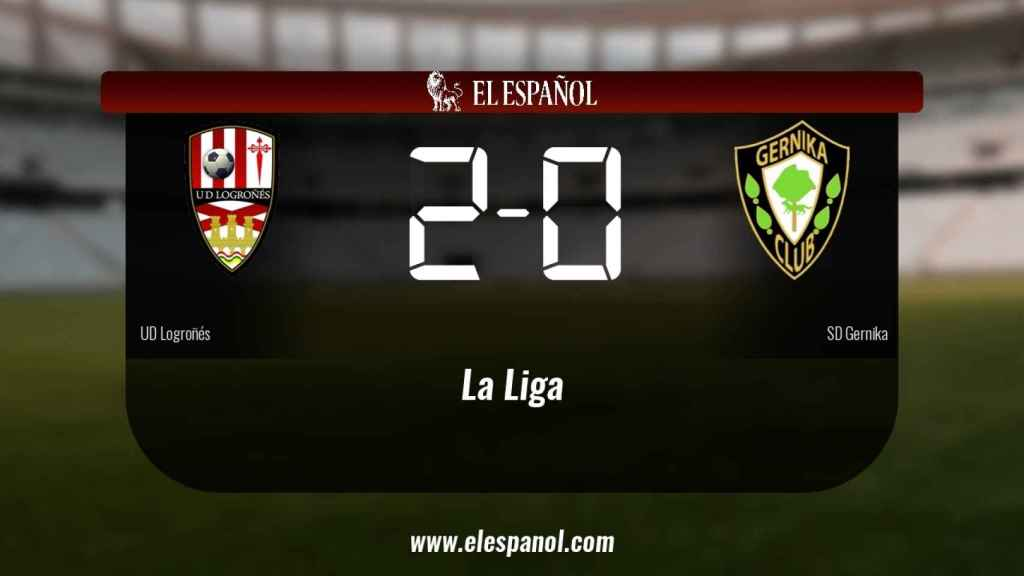 Triunfo del Logroñés por 2-0 frente al SD Gernika