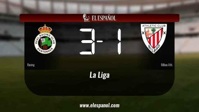 El Racing se queda los tres puntos frente al Bilbao Ath.