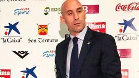 Luis Rubiales, presidente Federación Española de Fútbol. Foto: rfef.es