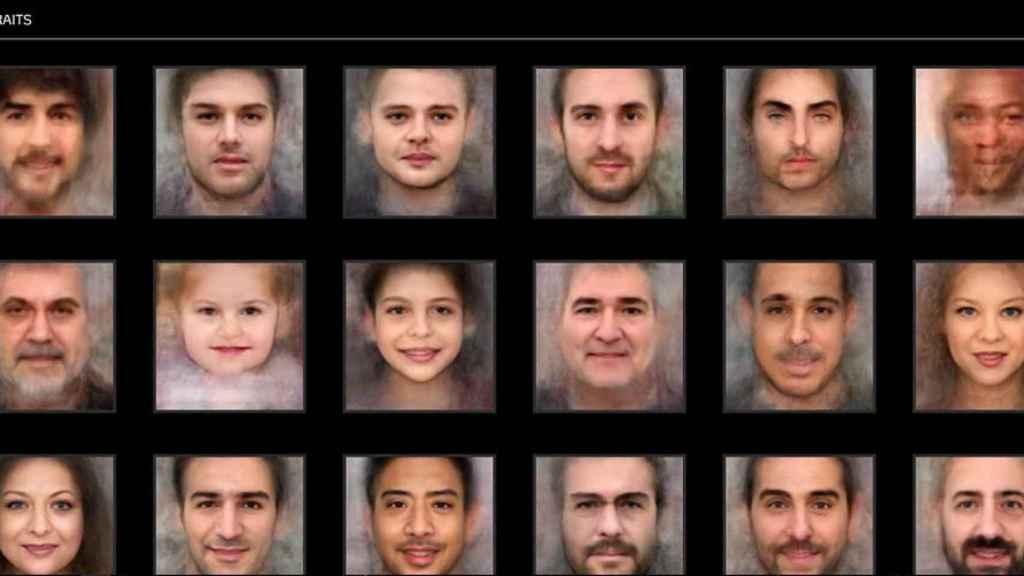 Retratos Inteligencia Artificial 1