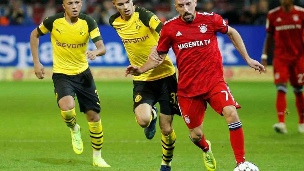 Ribery ante el Dortmund