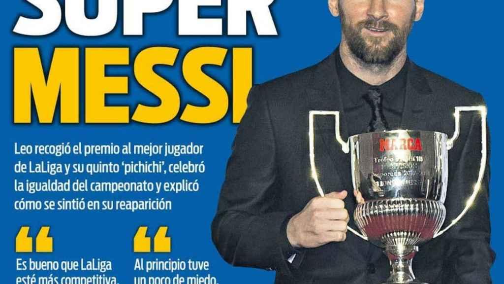 Portada Sport (13/11/2018)