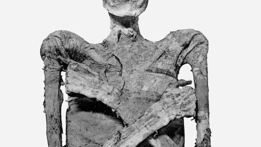 Momia de Merneptah.