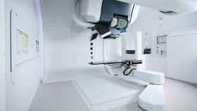 El equipo con el que se aplicará la protonterapia.